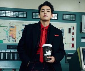 v, taehyung, and bts image