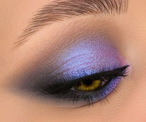 brown, cosmetics, and eye makeup image