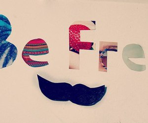 free and mustache image