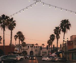 aesthetic, california, and night image