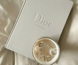 dior, coffee, and aesthetic image