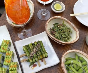 food, japanese, and aperol image