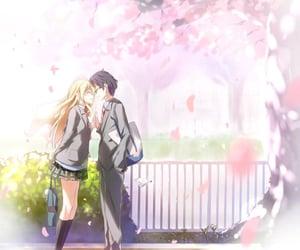 anime, kousei, and kaori image
