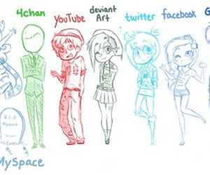 google, facebook, and twitter image