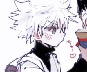 anime, hxh, and matching image