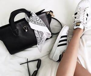 adidas, bag, and adidas shoes image