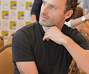andrew lincoln, my daddy, and twd image