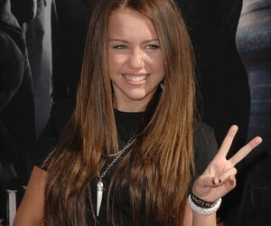 miley cyrus and peace image