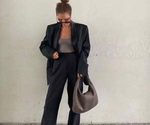bag, nude tones, and beige tones image
