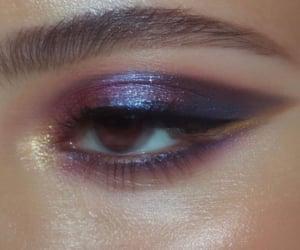 beauty, beige, and eye image