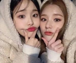 loona, chuu, and heejin image