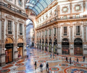 italy, travel, and milan image