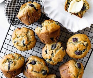 Gluten-Free Blueberry Banana Muffins | PassMeSomeTasty.com