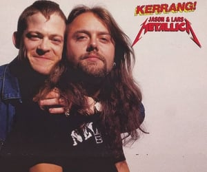 Jason Newsted, lars ulrich, and metallica image