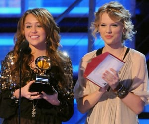 miley cyrus and Taylor Swift image