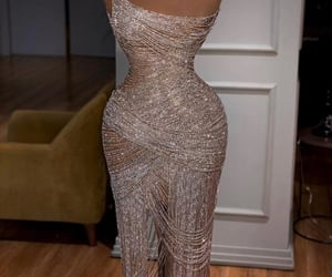 dresses, sparkles, and diamonds image