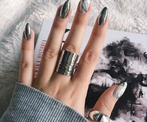 beautiful, girl, and nail art image