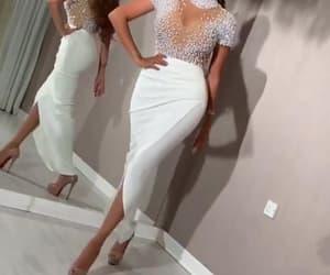 vestido de fiesta, beaded evening dress, and evening gown image