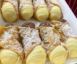 bakery, cream, and dessert image