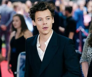 babe, man, and Harry Styles image