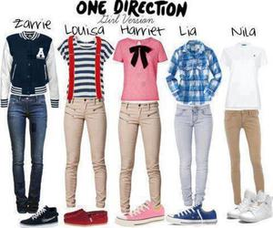 1d and one direction style image