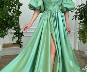 clothes, green, and dress image
