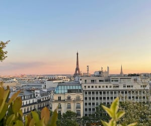aesthetic, eiffel tower, and france image