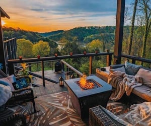 chilling, outdoor living, and outdoors image
