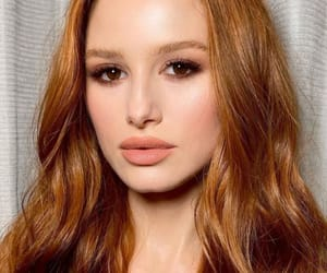 actress, redhair, and beauty image