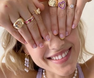 rings, jewelry, and aesthetic image