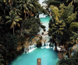 travel, paradise, and water image