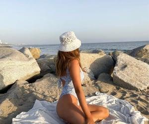 beach, fashion, and inspiration image
