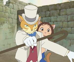 the cat returns, animal, and anime image