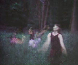 forest, girl, and photography image