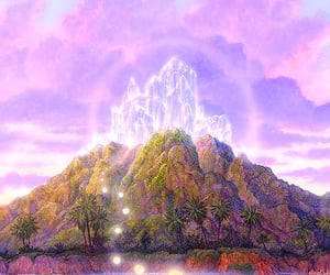 visionary art, gilbert williams, and the crystal sanctuary image