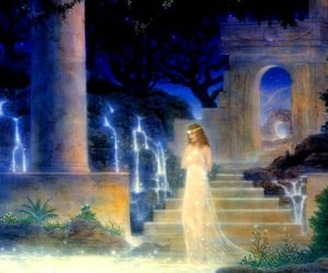 gilbert williams, pool of light, and vision ary art image