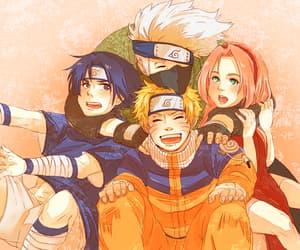 akatsuki, sasuke uchiha, and sakura haruno image