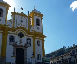 architecture, ouro preto, and brazil image