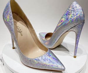 laser, patent leather, and stiletto heels image