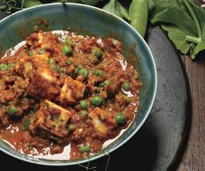 indian food, peas, and asian food image