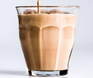 chai tea, indian food, and milk image