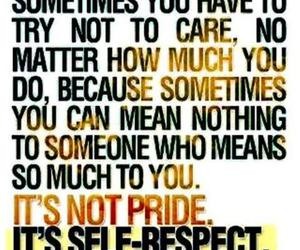 pride and selfrespect image