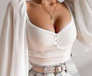 blusa, fancy, and moda image