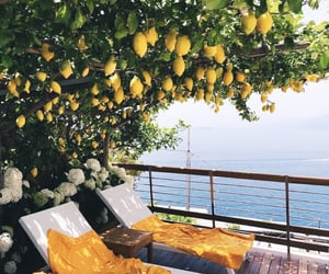 mediterranean, summer, and view image