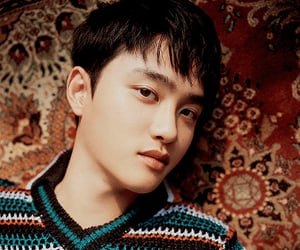 exo, vocalist, and d.o image