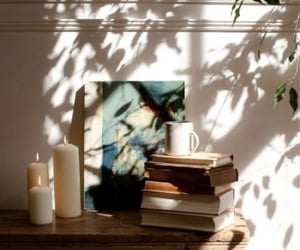 home, books, and photography image
