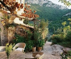 al fresco, mountain, and house image