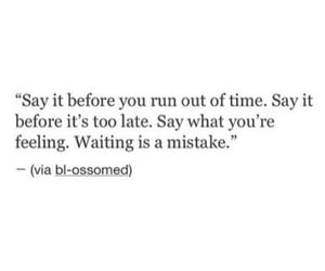 quotes, mistakes, and waiting image