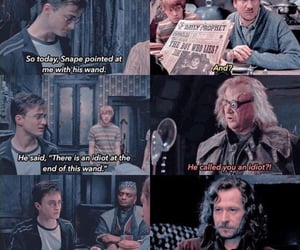 harry potter, severus, and lupin image