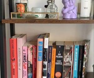 aesthetics, bibliophile, and home image